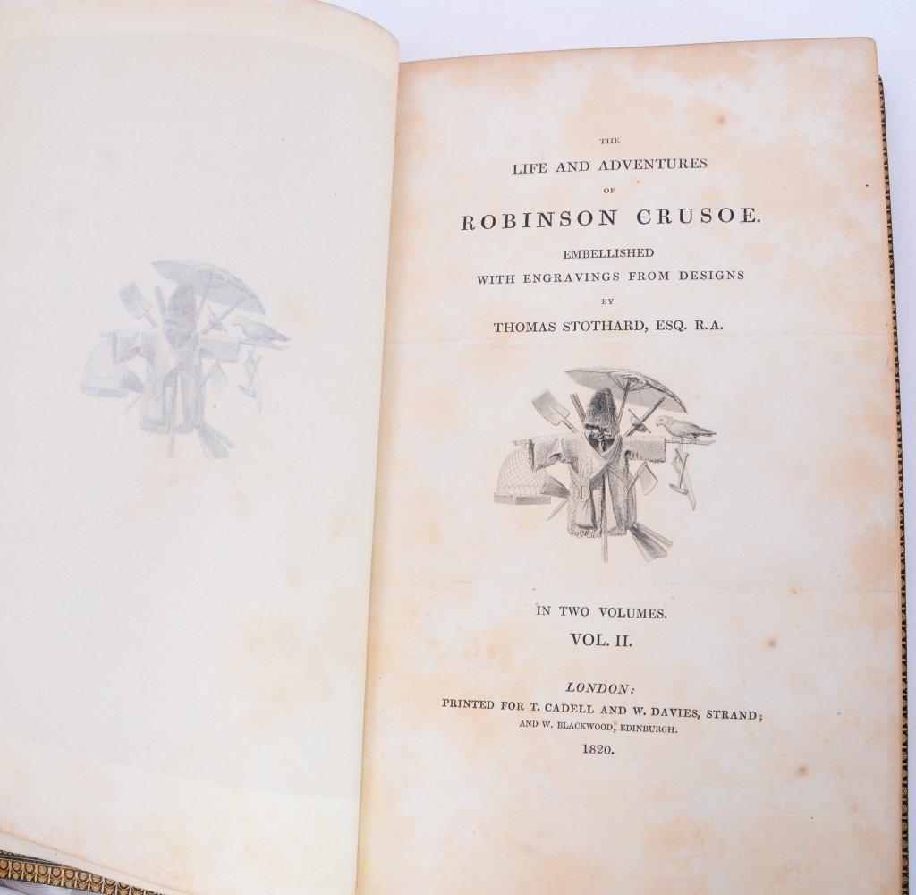 DeFoe's Life & Adventures of Robinson Crusoe - 7