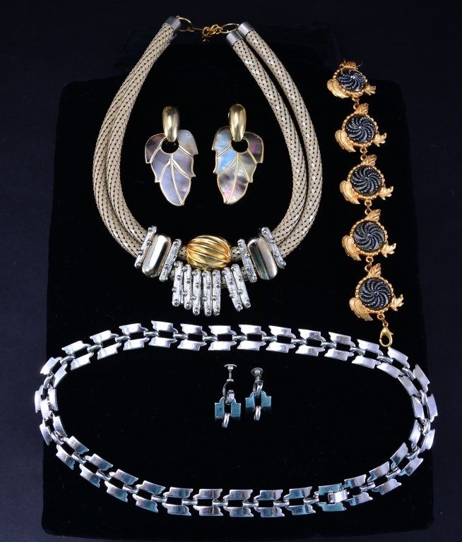 Silver & Gold Costume Jewelry