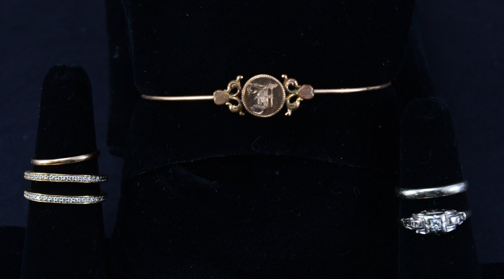 14K and Gold Tone Estate Jewelry