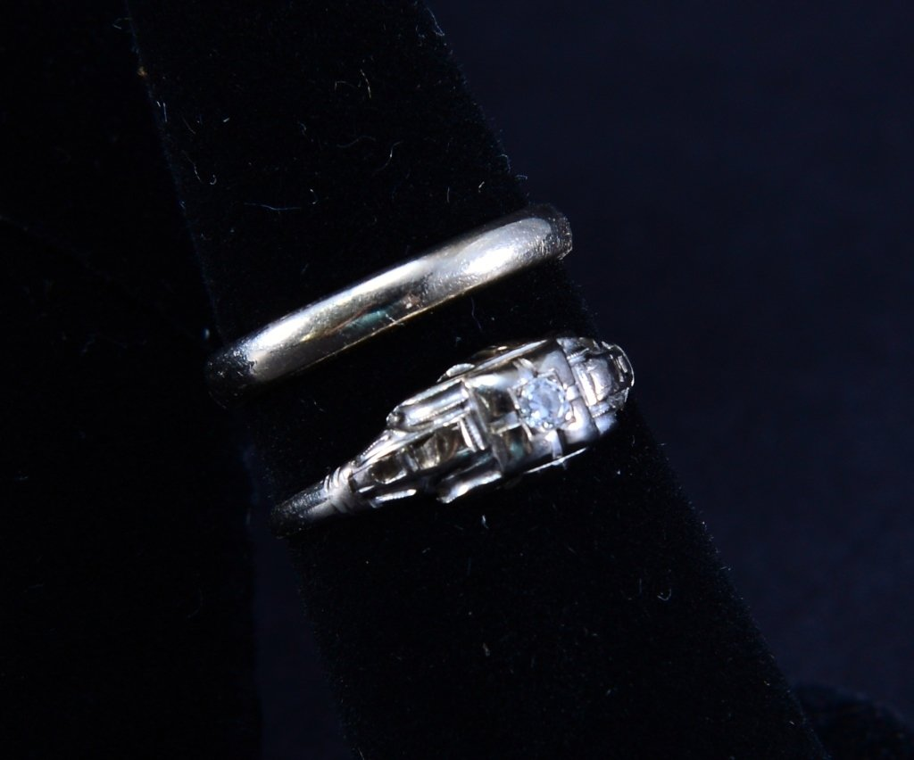 14K and Gold Tone Estate Jewelry - 2