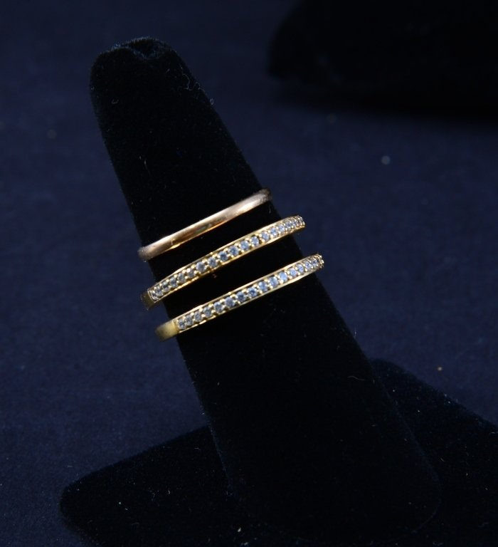 14K and Gold Tone Estate Jewelry - 3