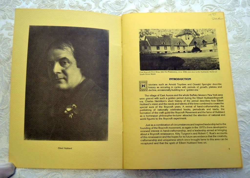 History & Renaissance of The Roycroft Movement - 2