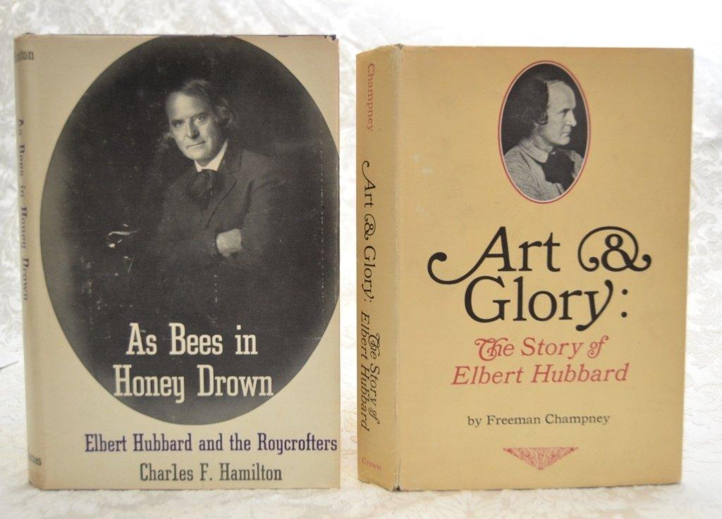 2 Elbert Hubbard & Roycrofters Books