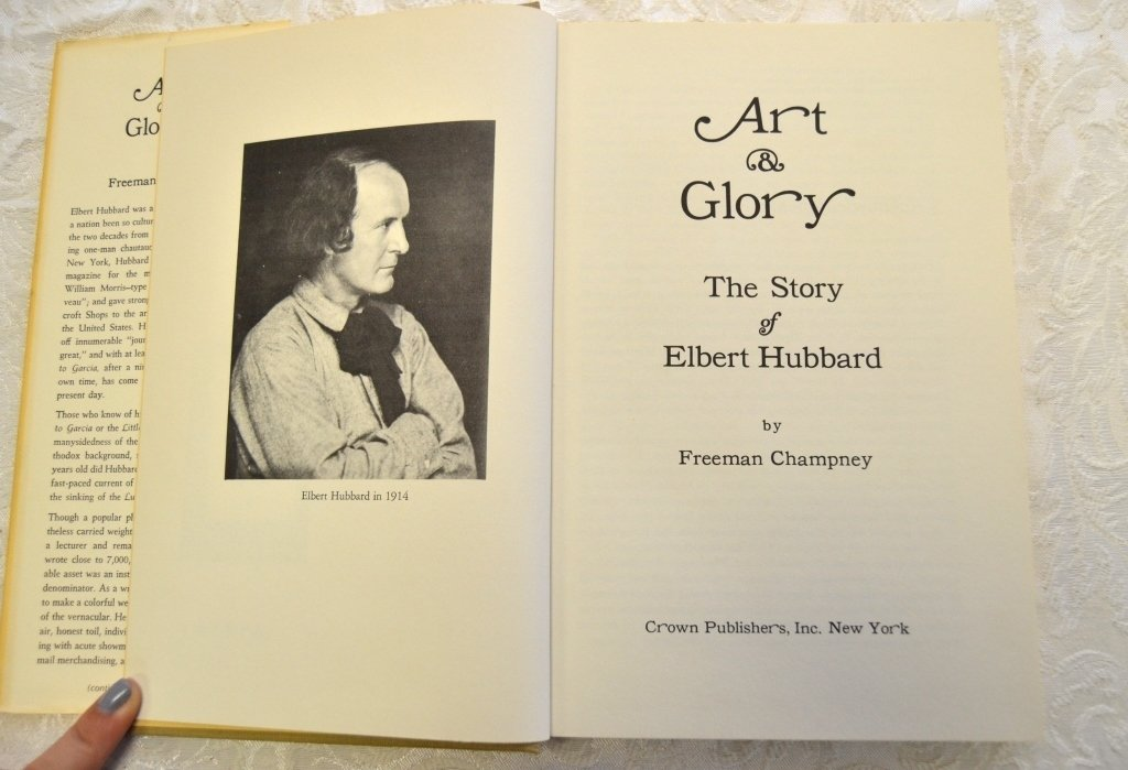 2 Elbert Hubbard & Roycrofters Books - 3