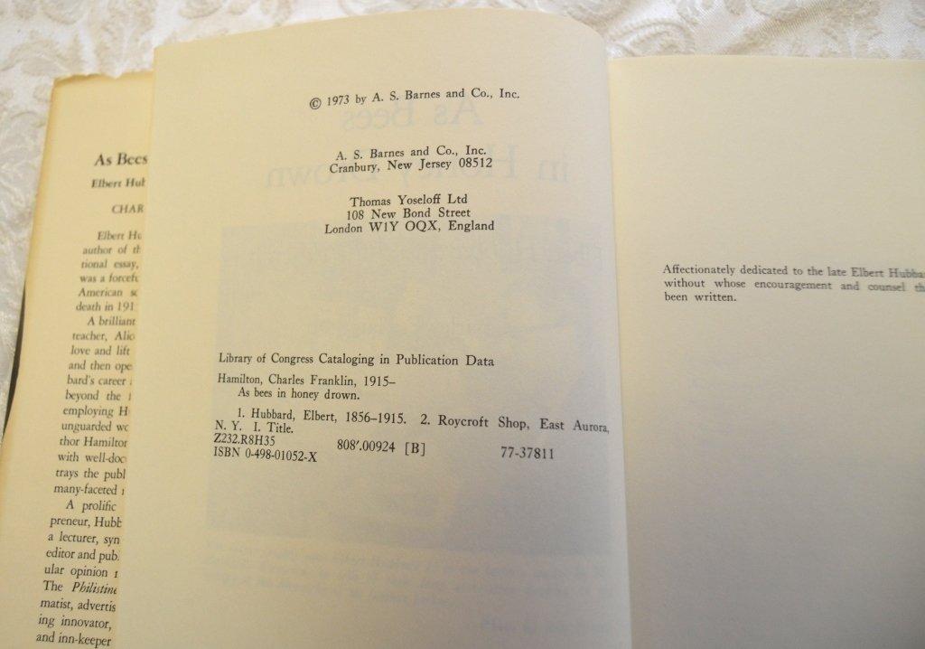 2 Elbert Hubbard & Roycrofters Books - 8