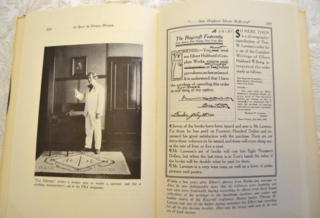 2 Elbert Hubbard & Roycrofters Books - 9