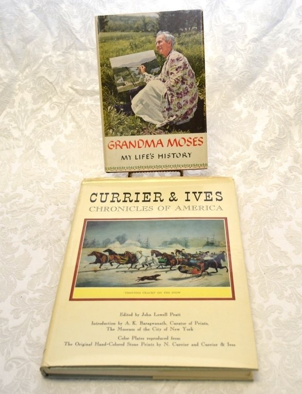 Currier & Ives and Grandma Moses Books