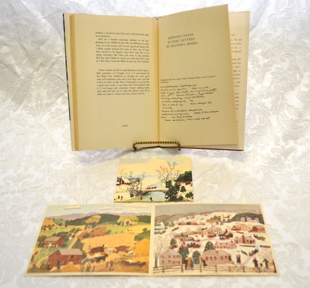 Currier & Ives and Grandma Moses Books - 7