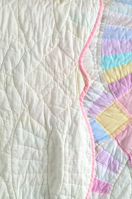 Double Wedding Ring Quilt - 4