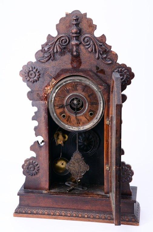 Ingraham Mantle Clock - 3