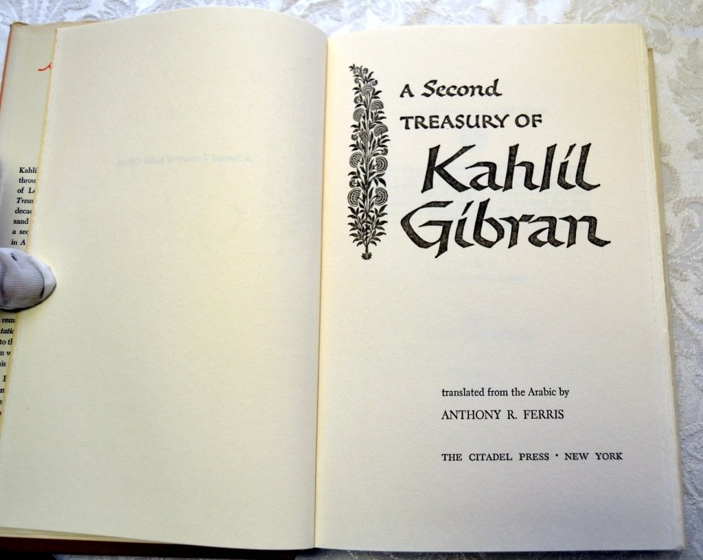 Two Treasuries & Book by Kahlil Gibran - 2