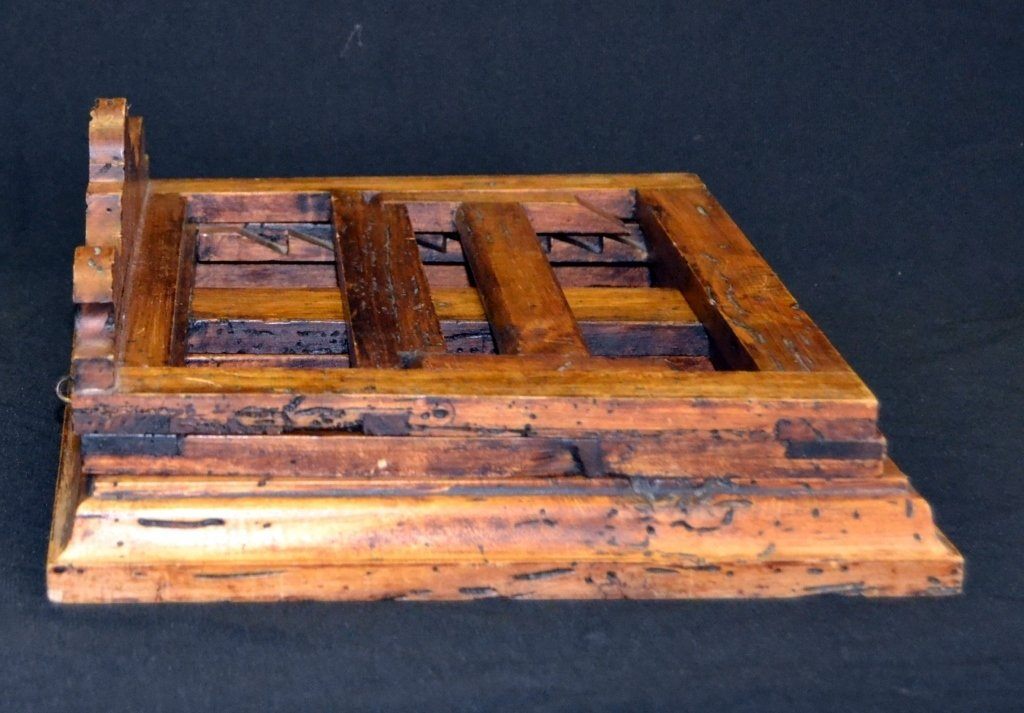 Distressed Adjustable Wood Book Stand - 3