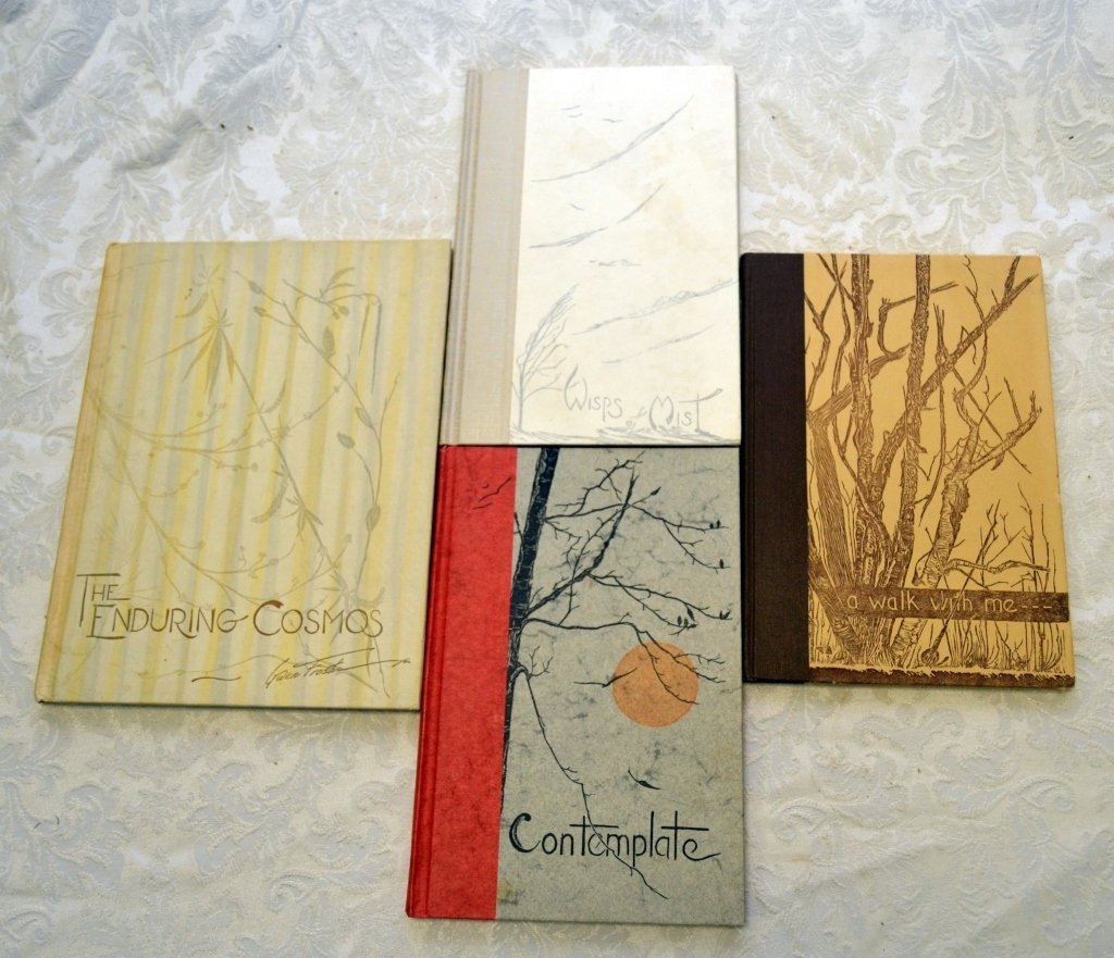 4 Gwen Frostic Poetry Books