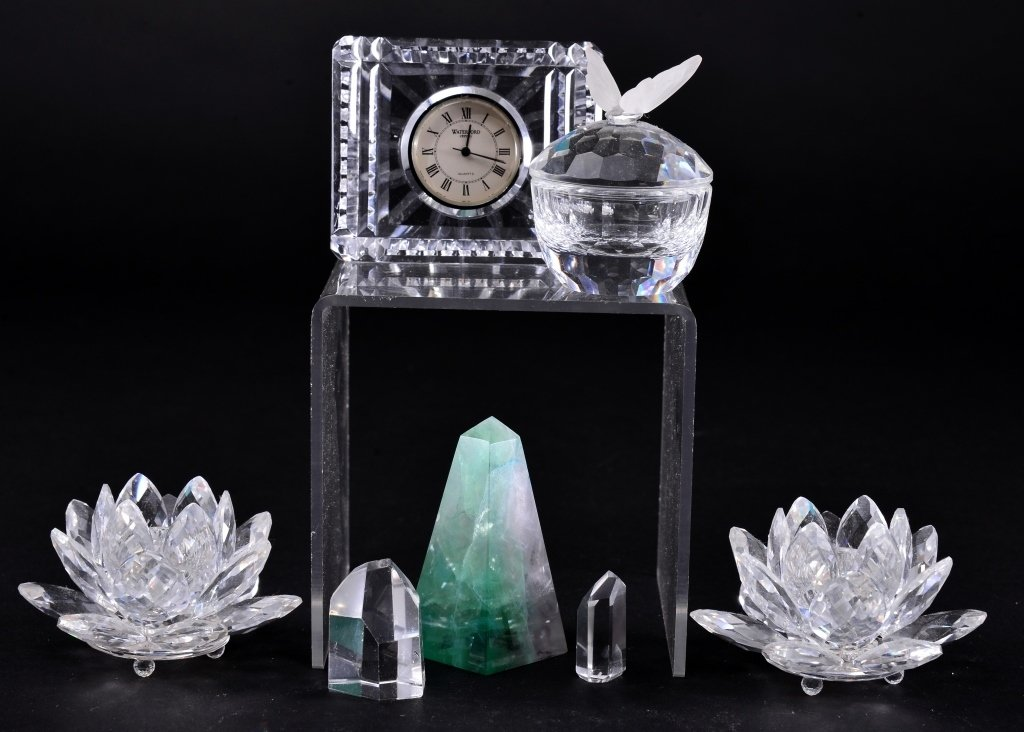 Crystal Collectible Lot - 2