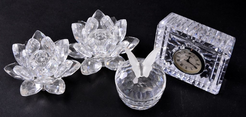 Crystal Collectible Lot - 3