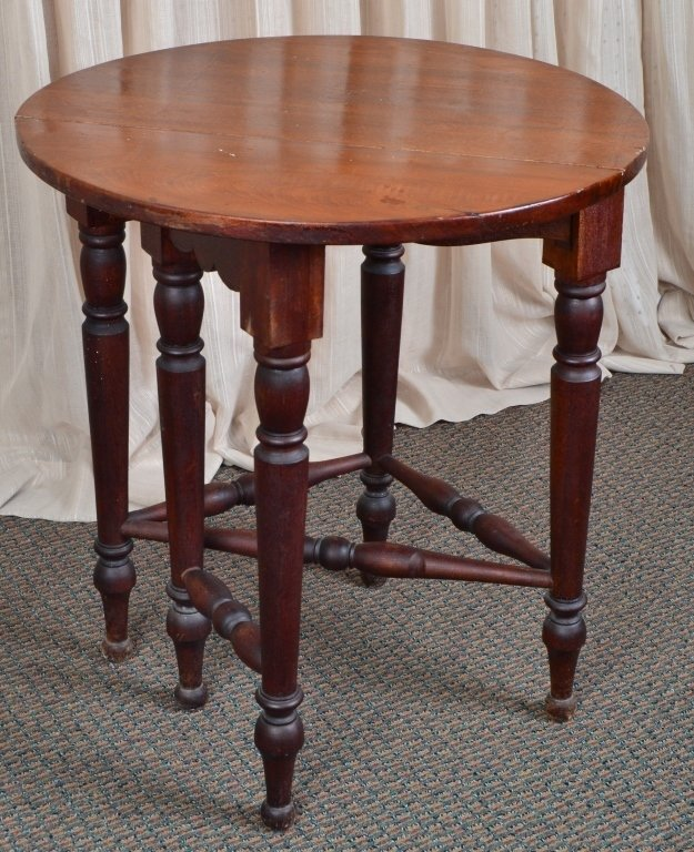 Bombay Co. Drop Leaf Table - 3