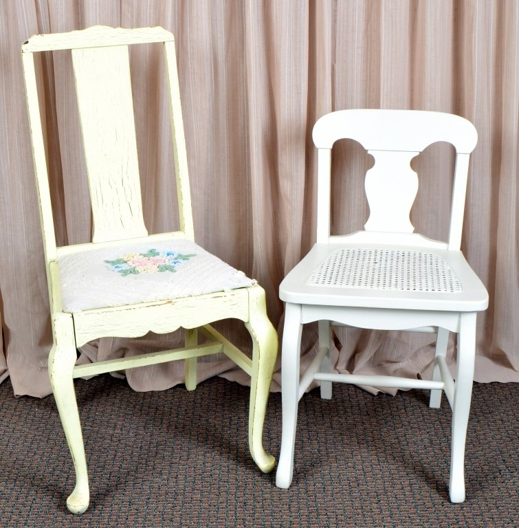 Two Vintage Side Chairs