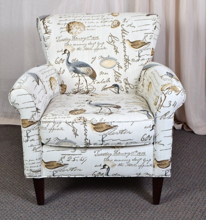 Upholstered Arm Chair