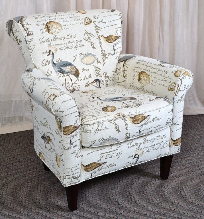 Upholstered Arm Chair - 2