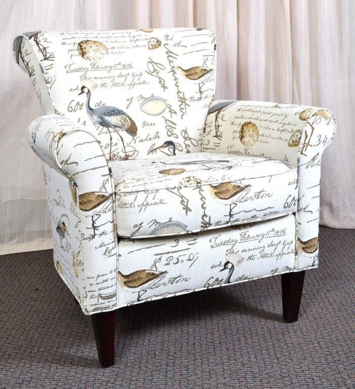 Upholstered Arm Chair - 3