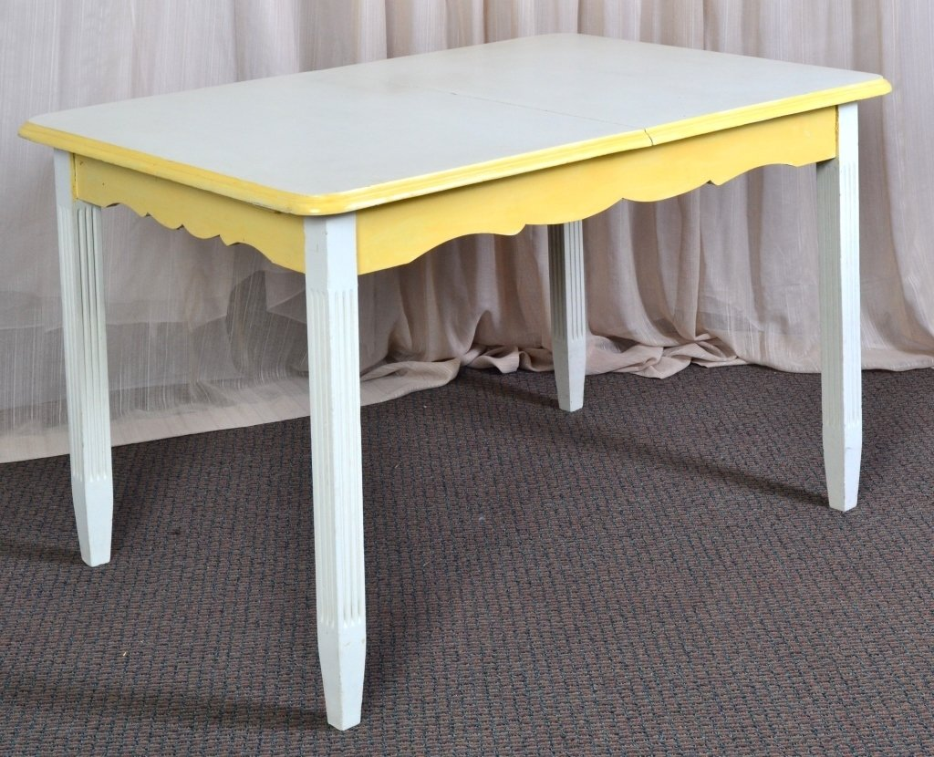 Cream and Yellow Table - 2