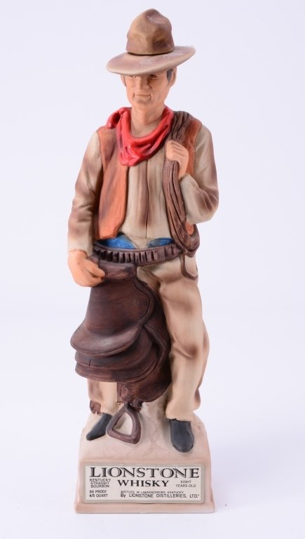 Lionstone Whisky Decanter The Cowboy