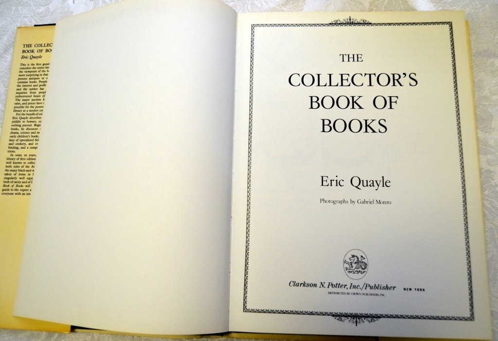 6 Books on Book Collecting - 5