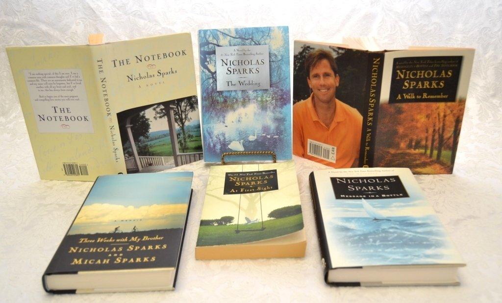 Nicholas Sparks Book Lot