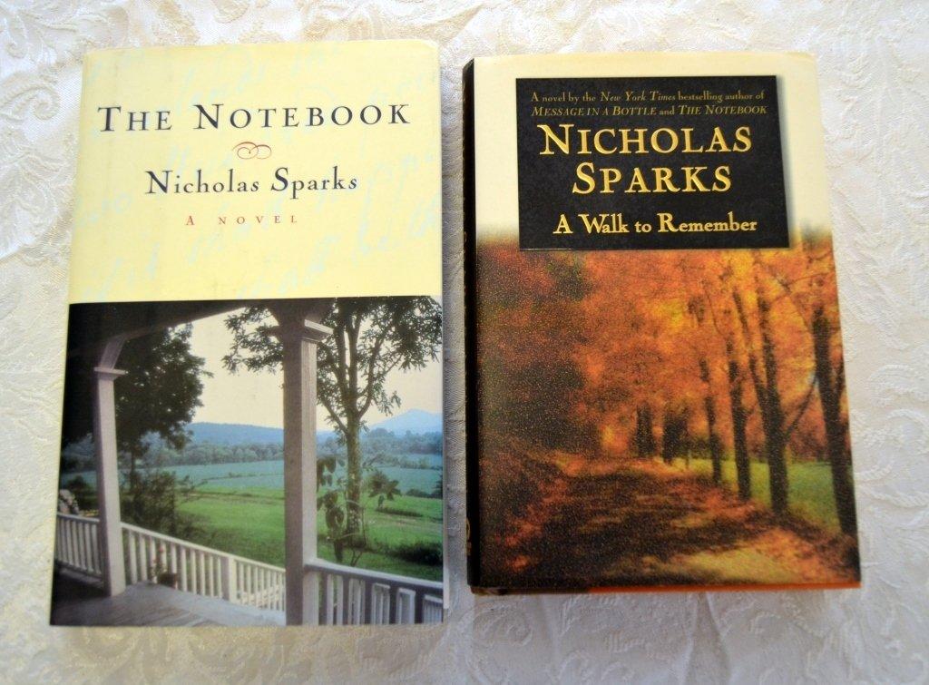 Nicholas Sparks Book Lot - 4
