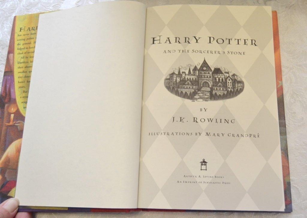 J. K. Rowling's Harry Potter 7 Book Lot - 3