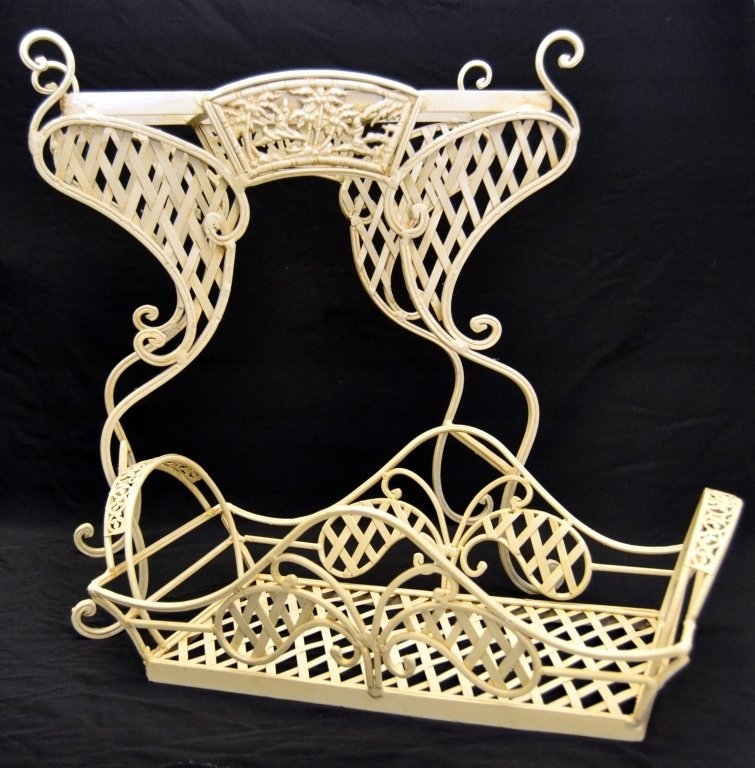 Heavy Metal Tray and Stand - 2