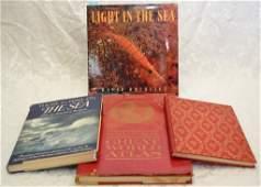 Art Books on the Sea wGreat World Atlas