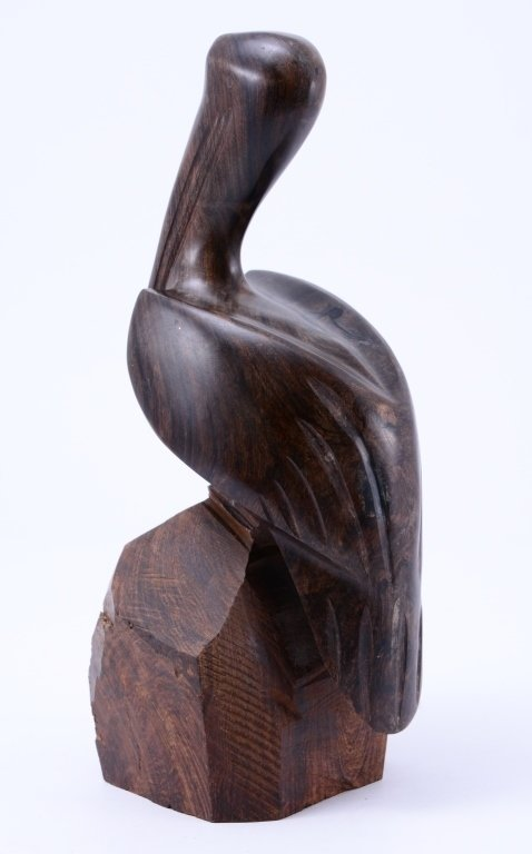 Hand Carved Pelican - 3