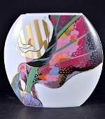 Rosenthal Porcelain Signed Folded Vase