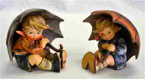 Hummel Umbrella Boy & Girl #152/0, TMK 6
