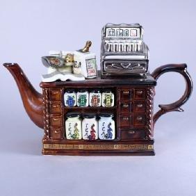 "Cardew Design Ceramic ""The Tea Shop"" Teapot"