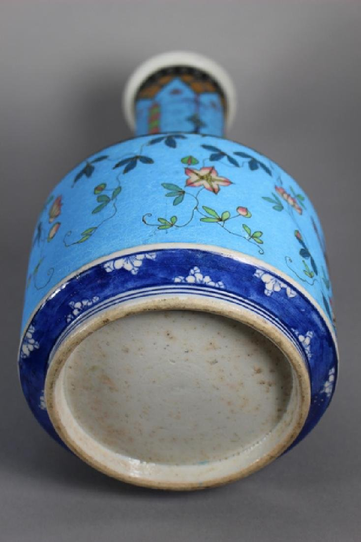 Cloisonne And Enameled Decorated Vases - 7