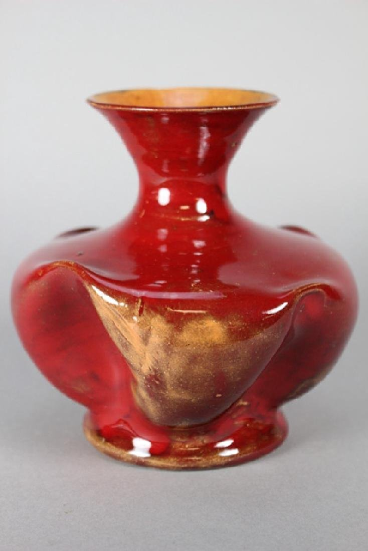 George Ohr Pottery Vase
