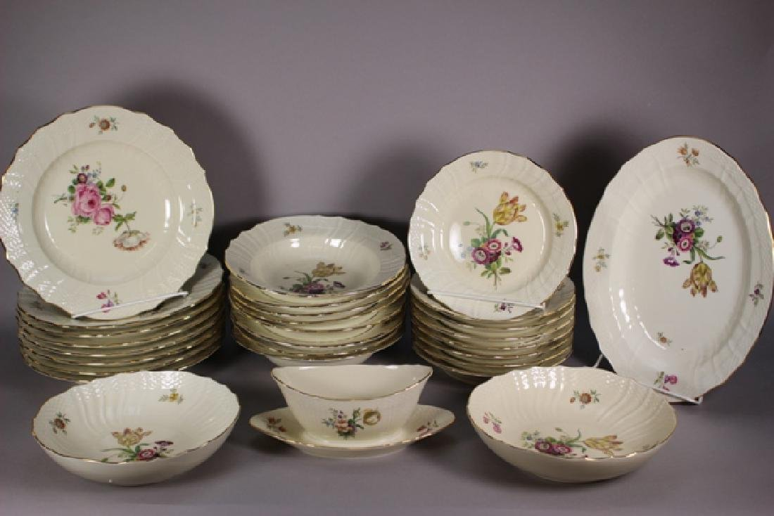 52 Pieces Royal Copenhagen Frijsenborg Dinnerware