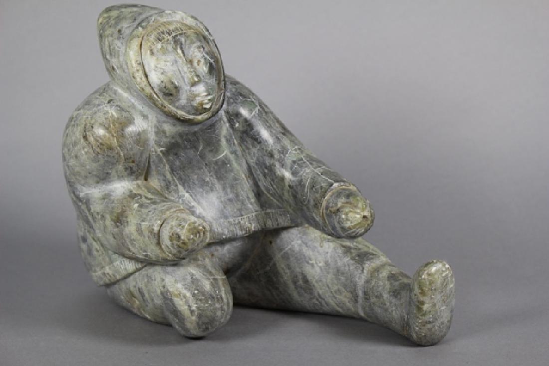 Inuit Carved Hardstone Figure