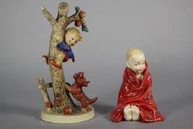 "Royal Doulton ""This Little Pig"" and Hummel Figurines"