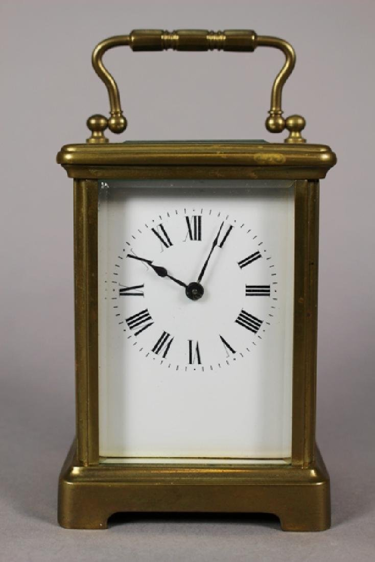 Richard & Co. French Brass Carriage Clock