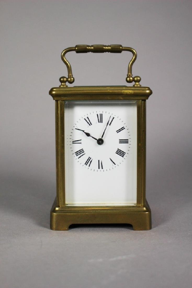 Richard & Co. French Brass Carriage Clock - 2