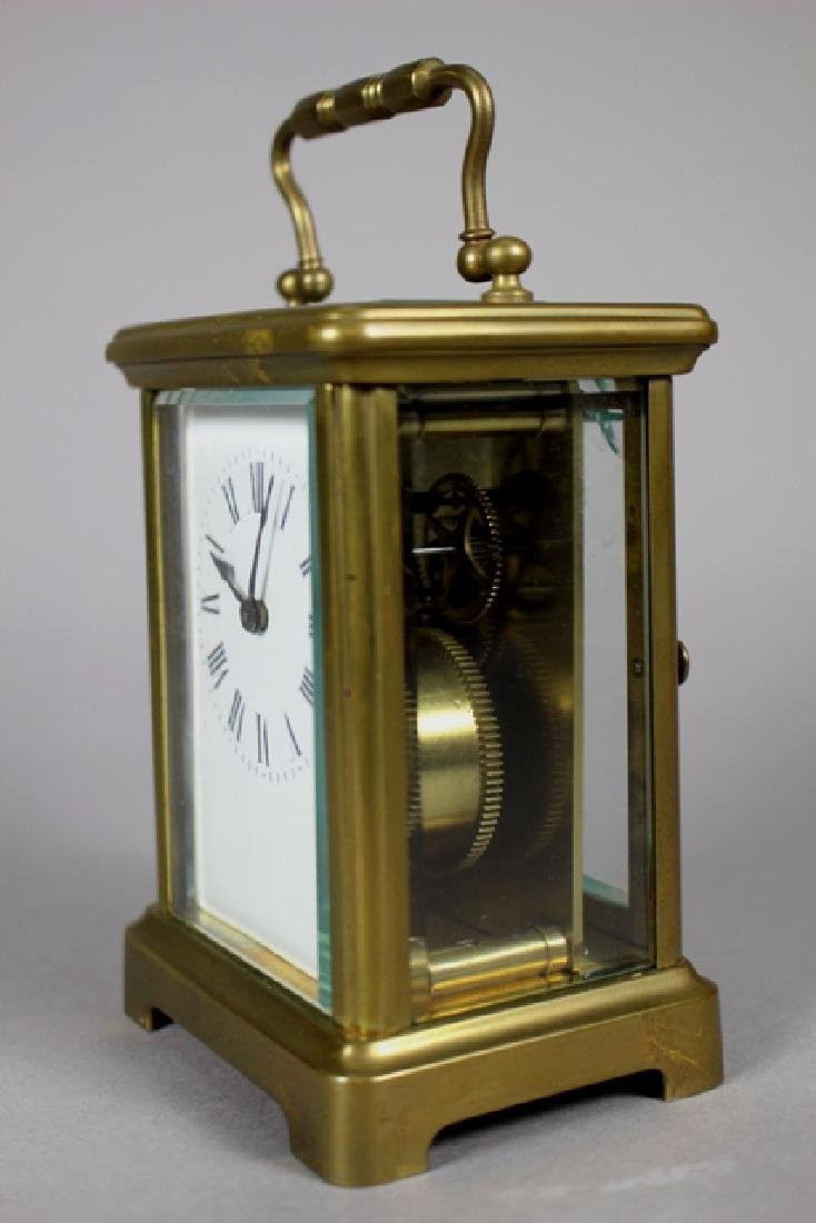 Richard & Co. French Brass Carriage Clock - 4