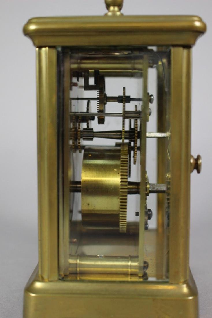 Richard & Co. French Brass Carriage Clock - 5