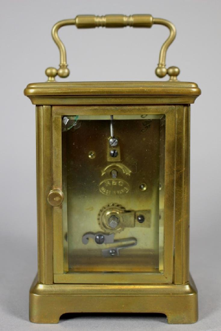 Richard & Co. French Brass Carriage Clock - 6