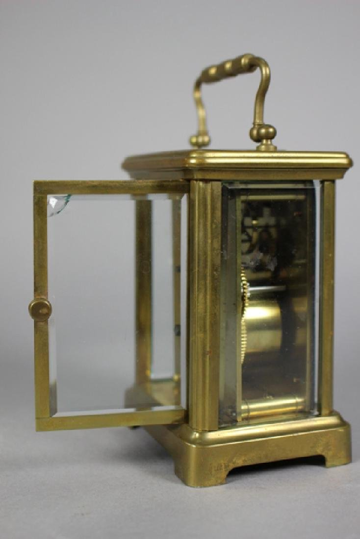 Richard & Co. French Brass Carriage Clock - 8