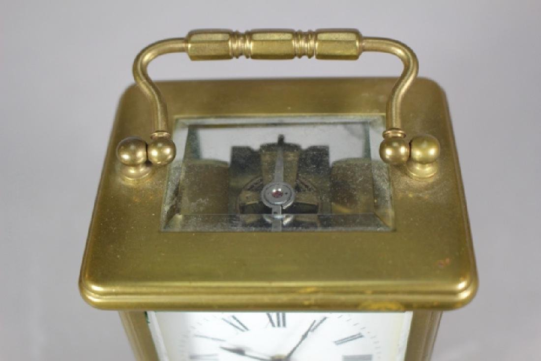 Richard & Co. French Brass Carriage Clock - 9