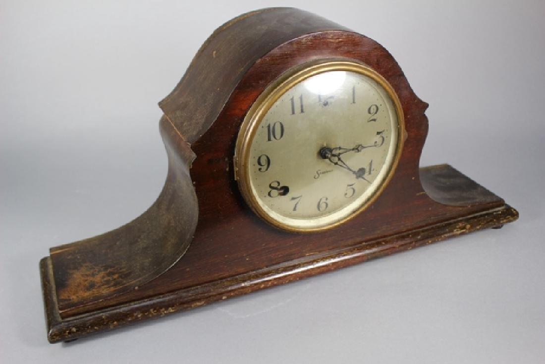 Sessions Mahogany Mantel Clock - 4