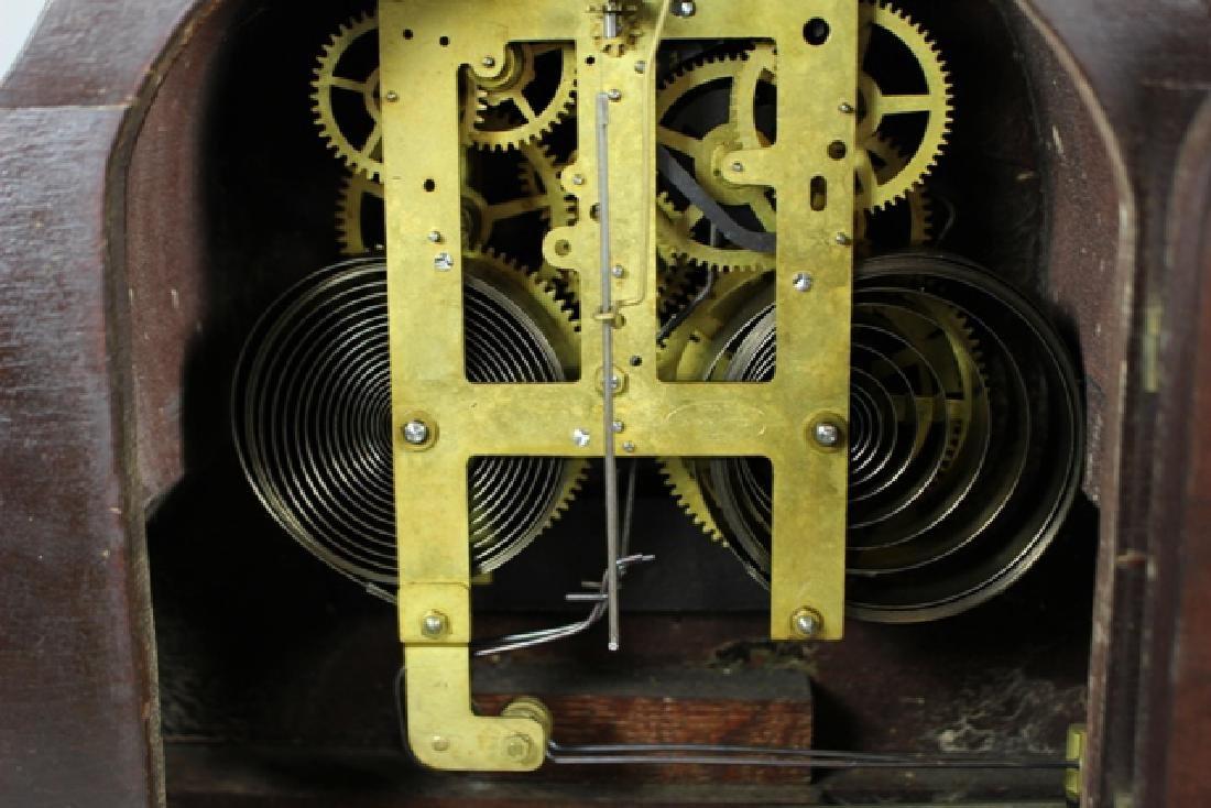 Sessions Mahogany Mantel Clock - 8